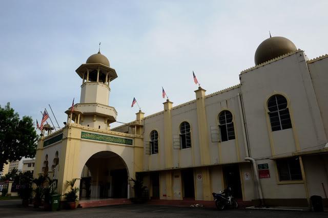 Masjid Jamek Kg. Baru, Jalan Raja Alang