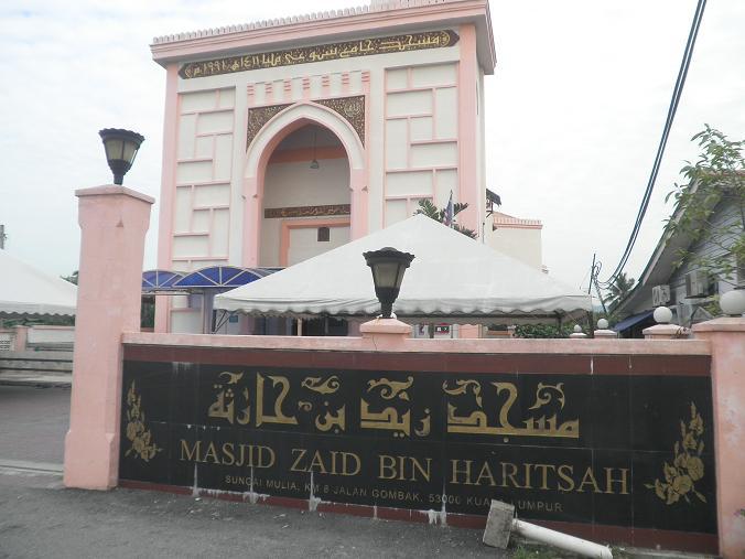Masjid Zaid Bin Haritsah, KM 8